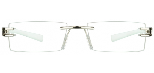 Vincent Chase VC 0253 Silver White C2 Eyeglasses