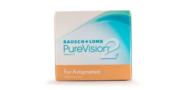 Bausch & Lomb Purevision 2 Astigmatism (6 Lenses/box)