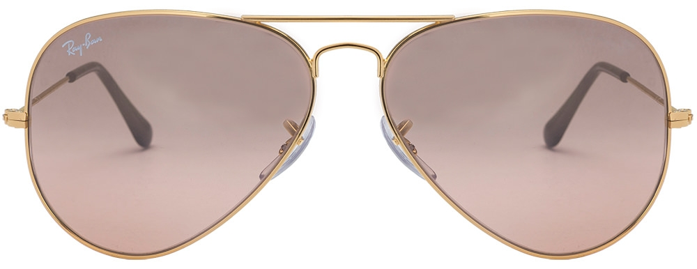 6c63bb9063 Ray Ban Rb3484 Sunglasses Arista Frame Crystal Gold Mirror Lens ...