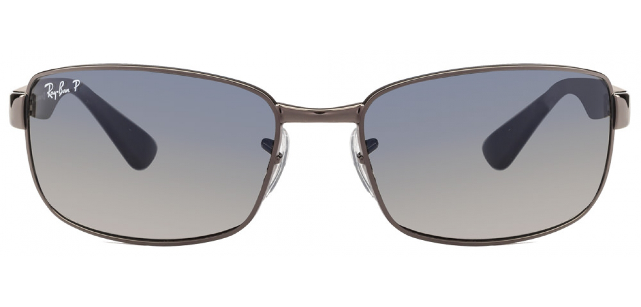 Ray-Ban RB3478 004/78 SIZE:60 Gunmetal Men Metal Sunglasses