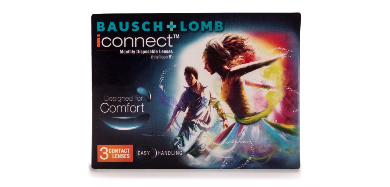 Bausch & Lomb iConnect (3 Lens/Box)