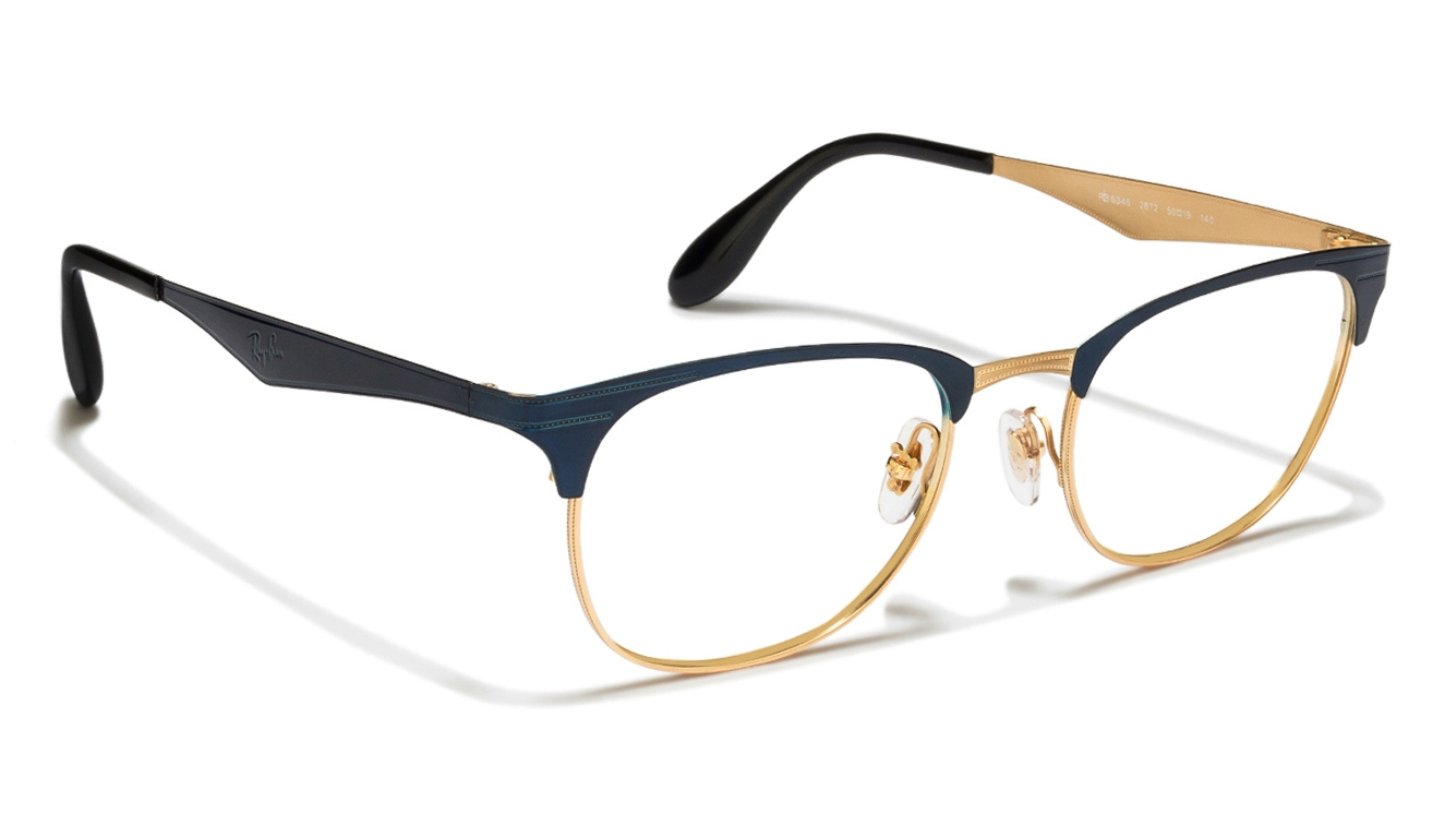 ban clubmaster eyeglasses sizes